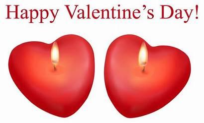 Valentine Transparent Happy Clip Heart Candles Clipart
