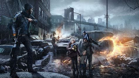 bureau gaming tom clancy 39 s the division saving civilians wallpapers and