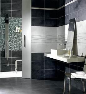 Carrelage Salle De Bain Blanc : carrelage salle de bain blanc et noir bordeaux ~ Melissatoandfro.com Idées de Décoration