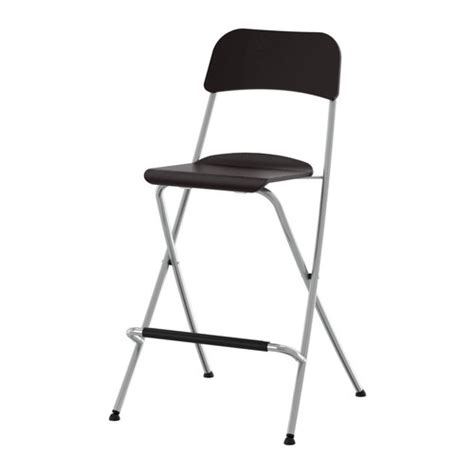 franklin bar stool with backrest foldable 24 3 4 quot ikea