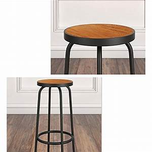 Chaise De Bureau En Bois : haizhen chaises canap s tabourets chaise de bar en fer forg chaises de loisirs en bois massif ~ Mglfilm.com Idées de Décoration