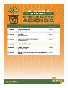 Post Training Survey Template Four Hour Ubt Sponsor Summit Agenda Template Labor