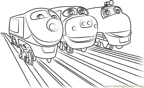 Brewster Chuggington Coloring Pages