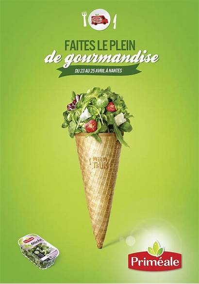 Advertising Campaign Creative Ads Ad Salad Poster