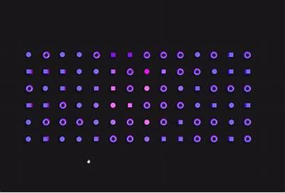 Effect Js Three Repulsion Interactive Grid Examples