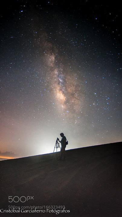 Lady Under The Milky Way Dunes