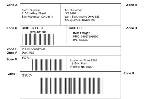 To reduce cycle times, limit inventory, and increase profitability, most large retailers labels that follow the specific standard of the ucc common label. Ucc 128 Label Template - Best Label Ideas 2019