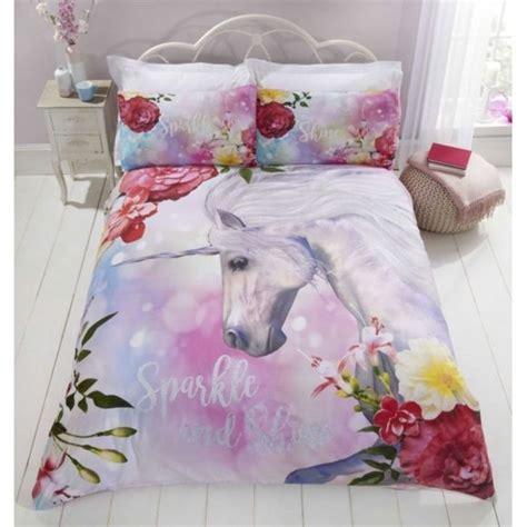 home licorne cheval parure de lit housse de couette pas cher achat vente linge de