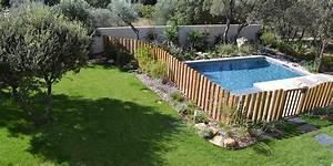creation d39un jardin contemporain villeneuve les avignon With amenagement de jardin en pente 3 creation jardin de ville avec piscine marseille prado
