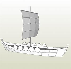Fine Viking Longship Template Elaboration Example Resume And Ideas Digicil