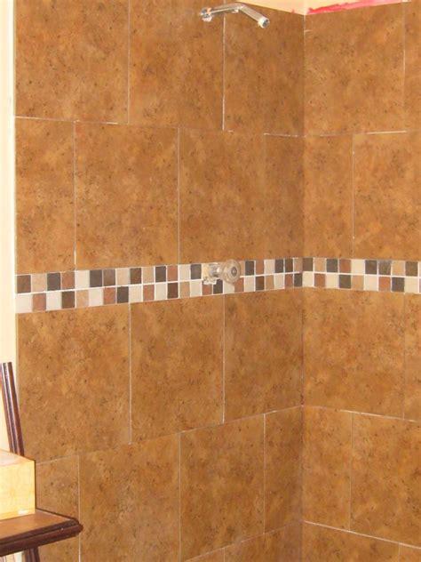 caulk or grout for tiles on shower walls