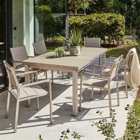 Salon De Jardin Table Et Chaises Salon De Jardin Table Et Chaise Mobilier De Jardin Leroy Merlin