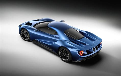 2016 Ford Gt Revealed, All-new Mid-engine Supercar