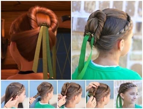 spectacular disney frozen  inspired hairstyle tutorials