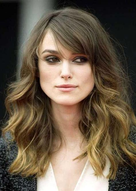 medium to haircuts for wavy hair 2018 popular haircuts for thick curly hair 5676