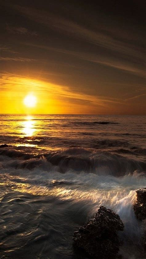 Backgrounds Wallpapers Phone by Coastal Waves Android Phone Wallpaper