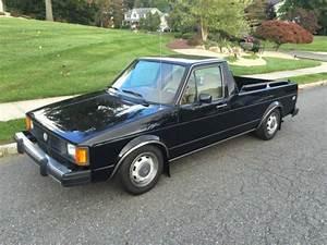 1982 Volkswagen Rabbit Pickup Caddy Diesel Lx Original 5 Speed
