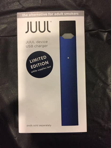 juul navy blue limited edition basic kit juul vape