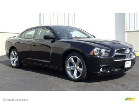 Brilliant Black Crystal Pearl 2011 Dodge Charger R/T Plus