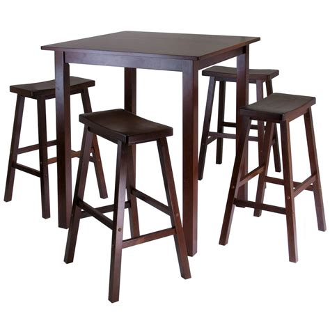 4 piece pub table set 5 piece pub table dining set in bar table sets