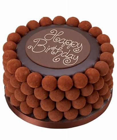 Cake Birthday Happy Truffle Choco Cakes Amazing