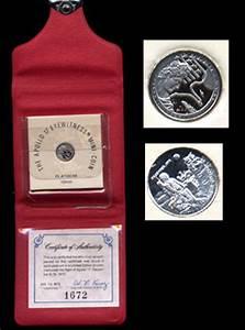 Apollo 14 Mini Coin Silver - Pics about space