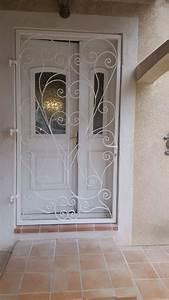 Grille Porte D Entrée : grille de protection de porte d 39 entr e l 39 estaque marseille ~ Melissatoandfro.com Idées de Décoration