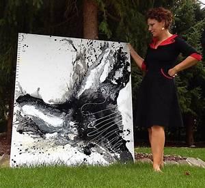Bilder Schwarz Weiß Gemalt : schwarz wei bild gemalt abstrakte eyecatcher unikate abstrakte malerei abstrakte bilder ~ Eleganceandgraceweddings.com Haus und Dekorationen