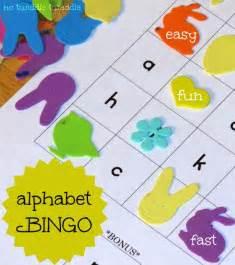 Preschool Alphabet Bingo