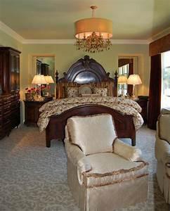 Ideas karen clark luxury master suite bedroom interior design for Luxurious master bedroom decorating ideas 2012