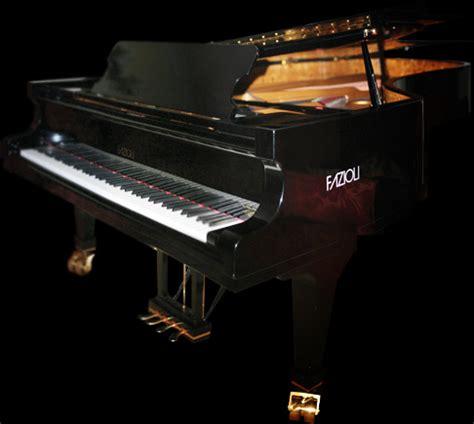 Imperfect Samples' Fazioli Ebony Concert Grand World's