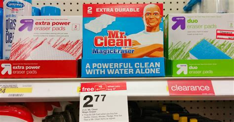 Target Mr Clean Magic Erasers  Packs Only   Each