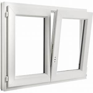 Fenêtre Oscillo Battant Pvc : fen tre pvc brico essentiel 2 vantaux oscillo battant ~ Edinachiropracticcenter.com Idées de Décoration