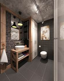 Design A Bathroom 30 Awesome Industrial Bathroom Design Ideas