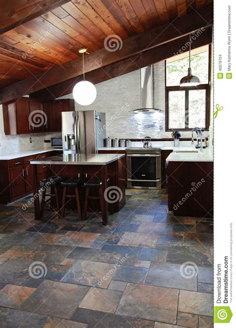 modern kitchen stock photo image