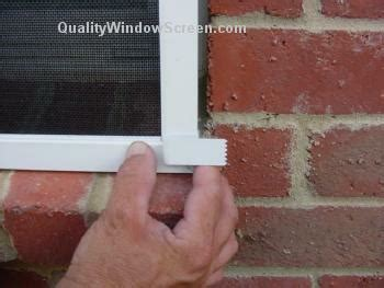 how to guide attaching solar window screens ez brick