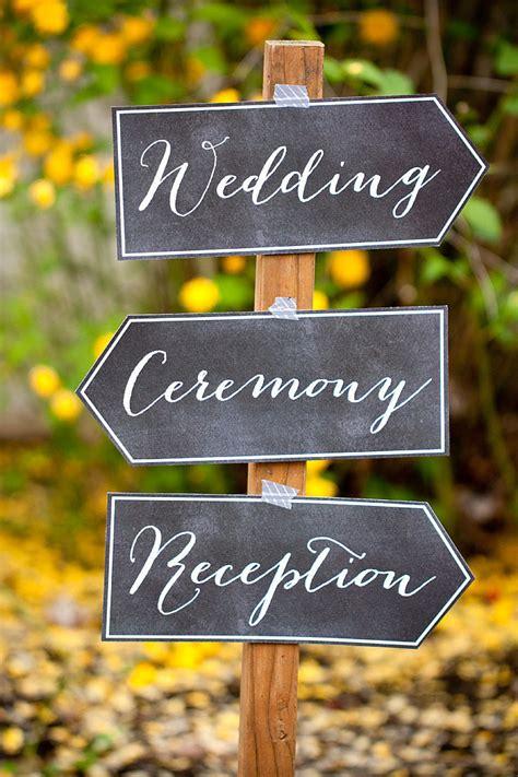awesome  printable wedding signs