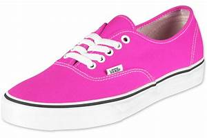 Vans Authentic shoes neon pink