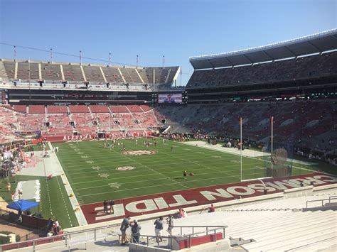 bryant denny stadium south zone  rateyourseatscom