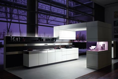 cuisines de luxe purple kitchens