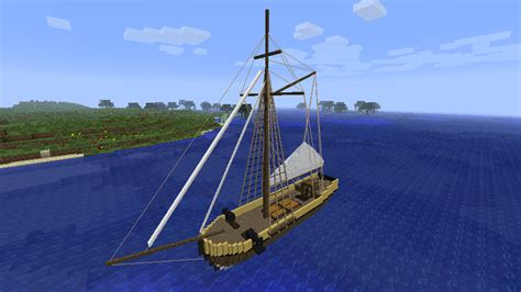 Boat Plans Minecraft by Minecrart Mods Minecraft Small Boats Mod 1 6 4 1 6 2 1 5 2