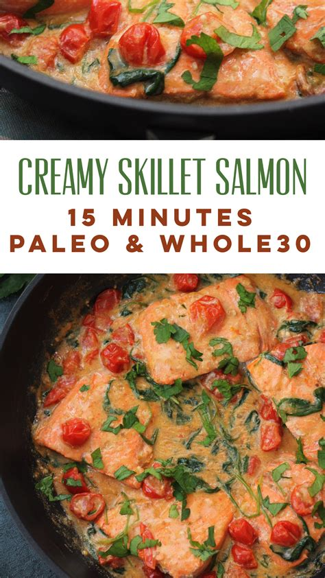 the whole kitchen sink skillet whole30 salmon 15 minutes paleo whole 6090
