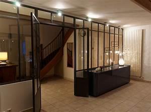 Verriere Interieure Metallique : verri re d 39 int rieur atelier d 39 artiste type loft 6 trav es ~ Premium-room.com Idées de Décoration