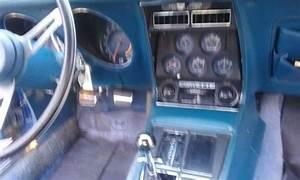 1972 350 Cid Targa Blue Chevrolet Corvette For Sale
