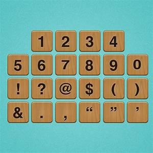 letter and number tiles for games With tile numbers and letters