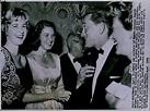 LG846 1959 Wire Photo INGRID BERGMAN & DAUGHTER AT PARTY ...