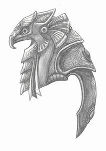 Horus Mask by RR-DF-RaptorRed on DeviantArt