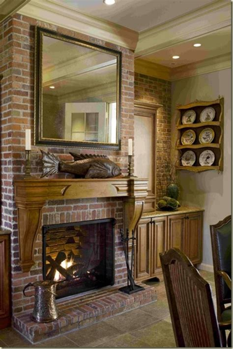 Kitchen Gas Fireplace - willow decor amazing country kitchen
