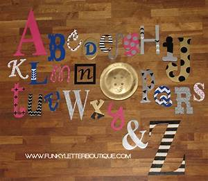 Wooden alphabet letter sets for Abc wooden wall letters