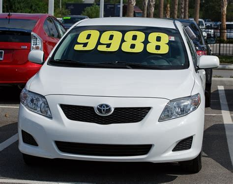 Used Cars For Sale by Save Money At Our Orlando Toyota Sales Event Orlando